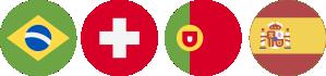 Formação Reconhecida Internacionalmente em países como Brasil, Suíça, Portugal e Espanha